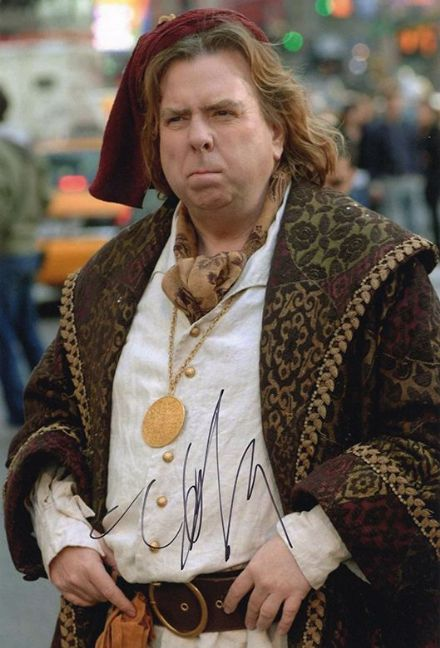 Timothy Spall, signed 12x8 inch photo.